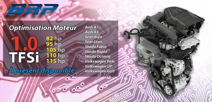 REPROGRAMMATION 1.0 TFSI DISPONIBLE